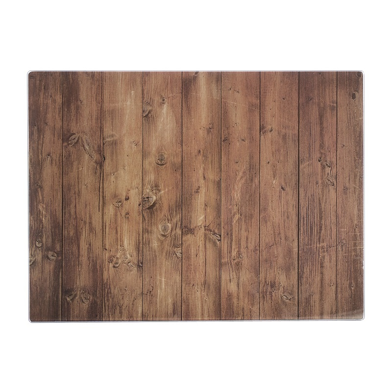 Typhoon - WSPS Deska ze szkła hartowanego drewno