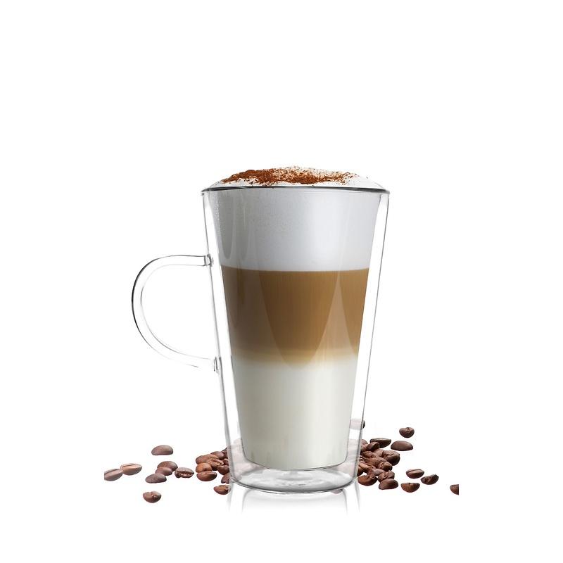 Vialli Design - Amo Szklanka do latte z podwójną ścianką