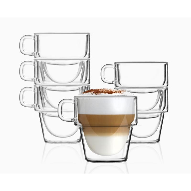 Vialli Design - Senso Komplet 6 szklanek z podwójną ścianką