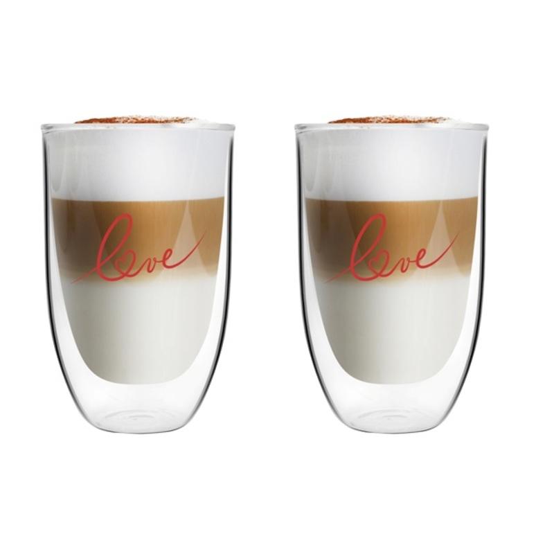 Vialli Design - Vita Love Komplet 2 szklanek  z podwójną ścianką