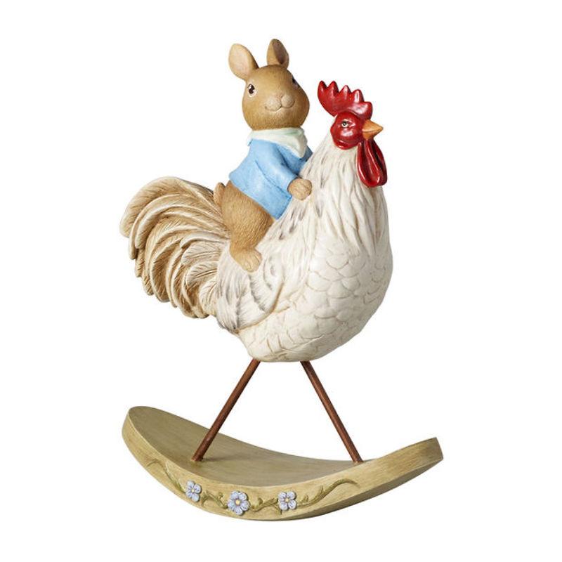 Villeroy & Boch - Bunny Tales figurka dekoracyjna, zając z kurczakiem
