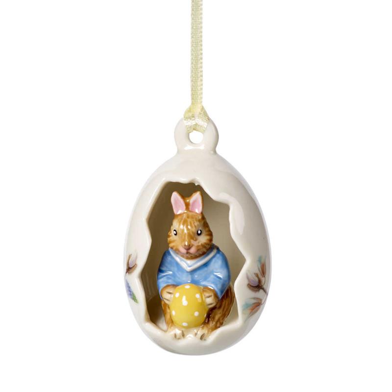 "Villeroy & Boch - Bunny Tales Zawieszka ""Królczek Max w skorupce"""