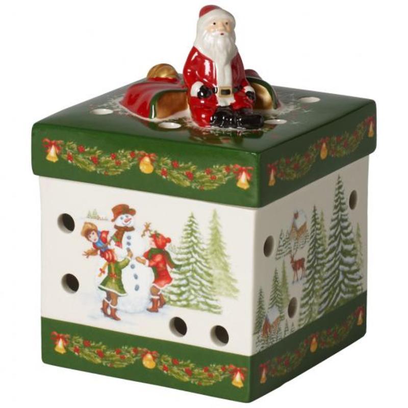 "Villeroy & Boch - Christmas Toys Lampion ""Kwadratowe pudełko prezentowe"""