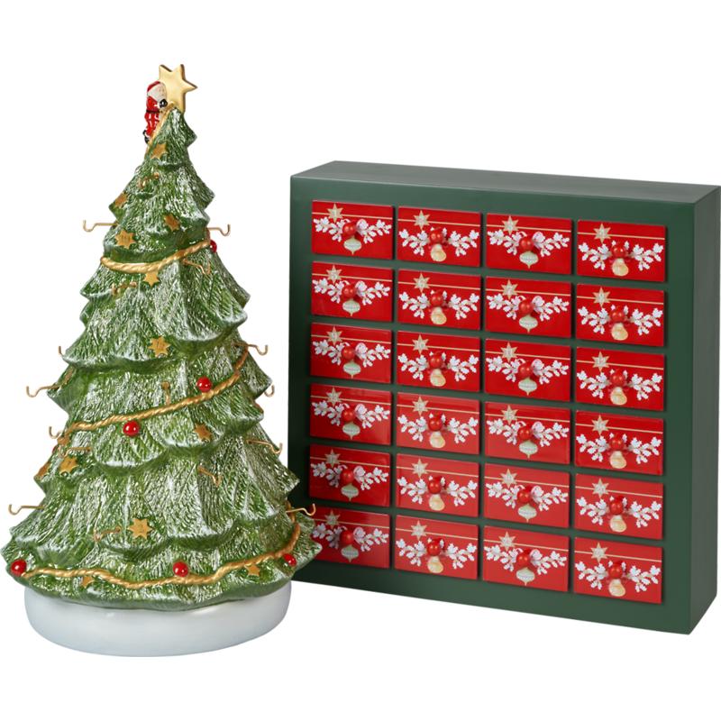 "Villeroy & Boch - Christmas Toys Memory Kalendarz adwentowy ""Choinka w 3D"""