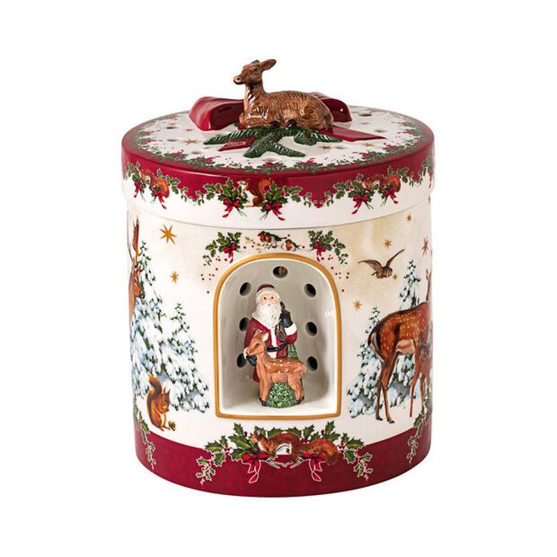 Villeroy & Boch - Christmas Toys Pozytywka okrągły prezent Aniołek