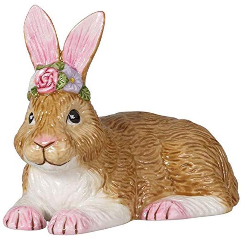 Villeroy & Boch - Easter Bunnies 2020 Figurka porcelanowa zajączek leżący mały