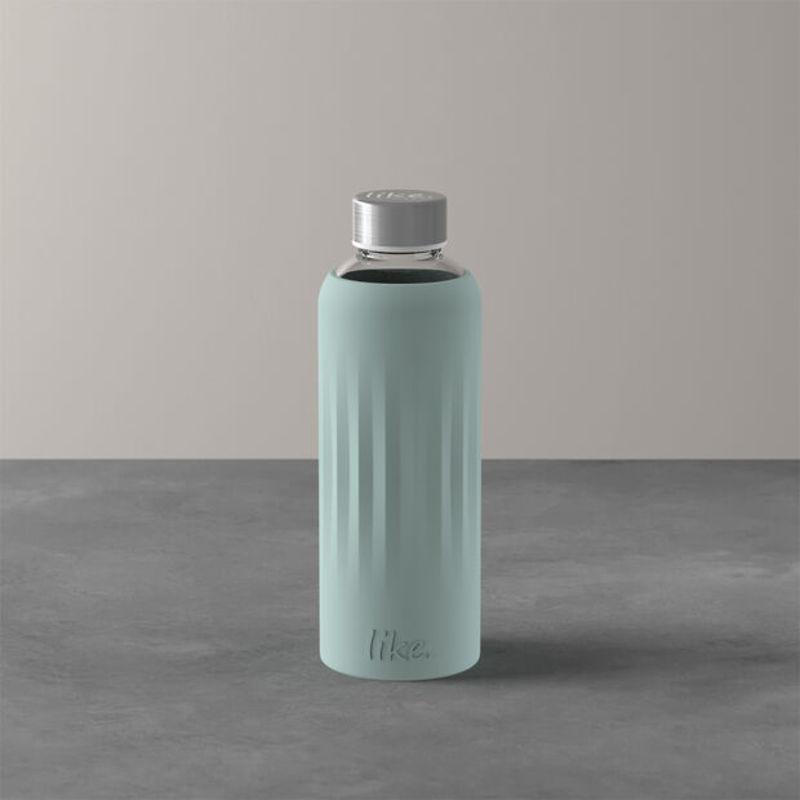Villeroy & Boch - To Go & To Stay Szklana butelka z silikonową osłonką