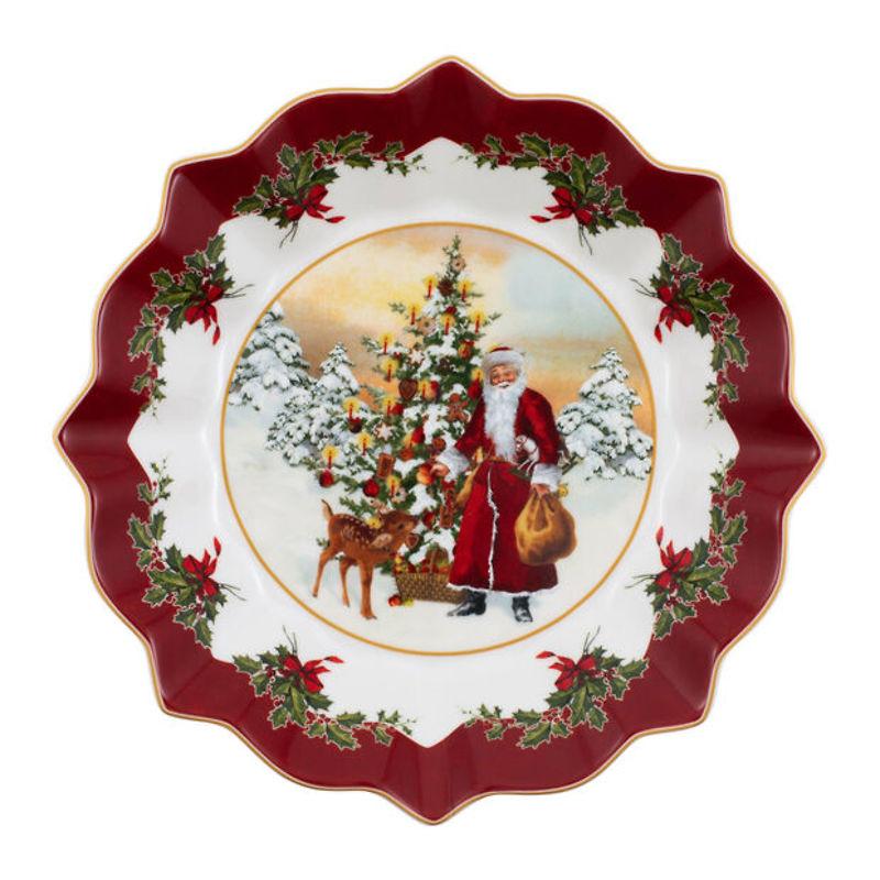Villeroy & Boch - Toy's Fantasy  duża miska św. Mikołaj i choinka