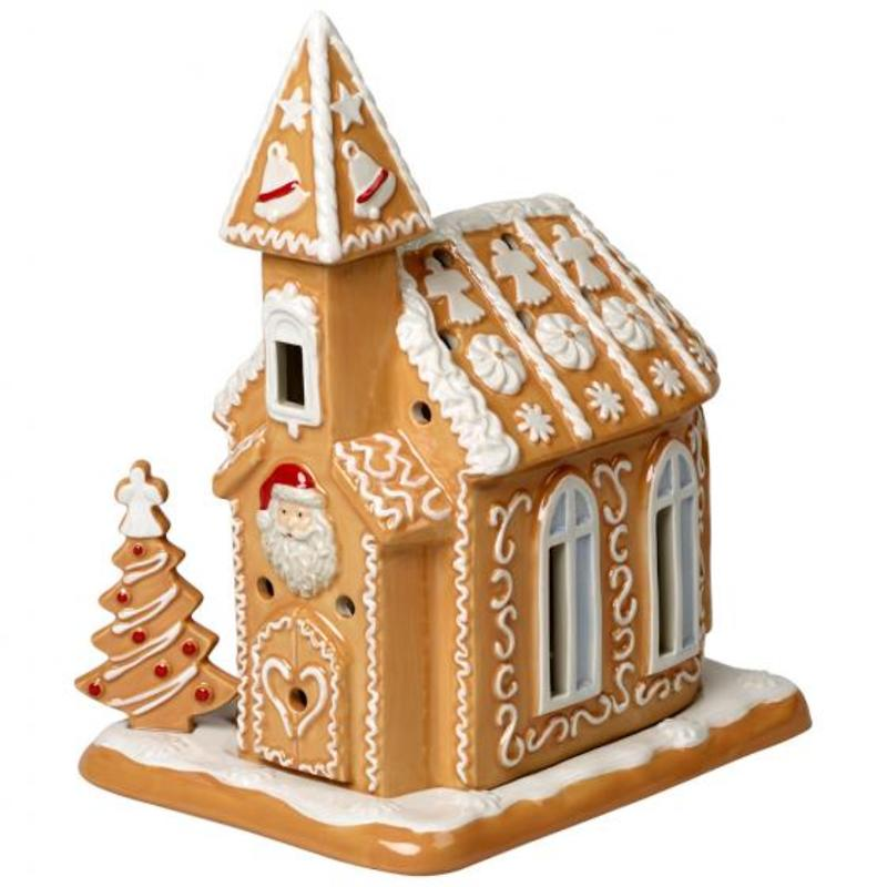 "Villeroy & Boch - Winter Bakery Decoration 2019 Lampion ""Kościółek z piernika"""
