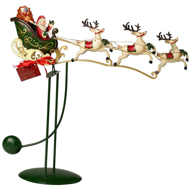 Villeroy & Boch - Winter Collage Accessoires Figurka balansująca Sanie św. Mikołaja