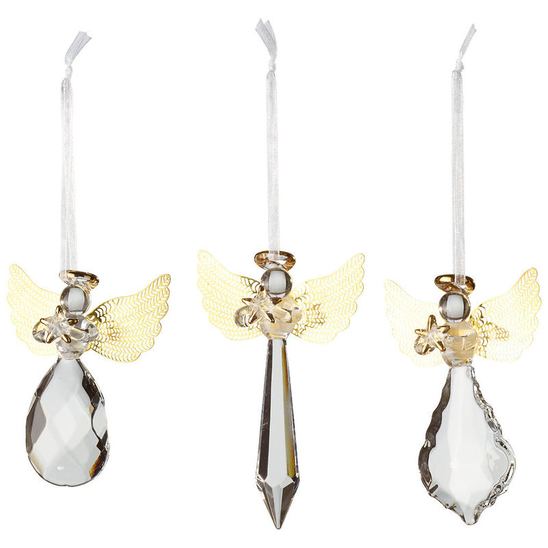Villeroy & Boch - Winter Collage Accessoires ozdoby choinkowe szklane