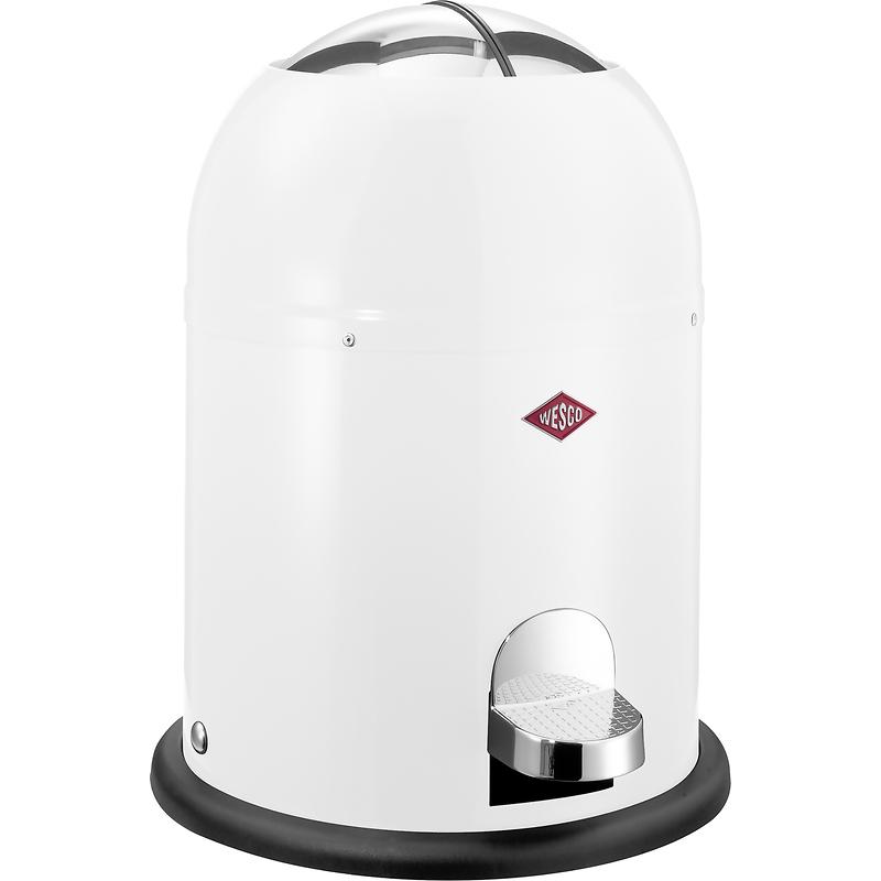 Wesco - Mini Master kosz na śmieci, biały