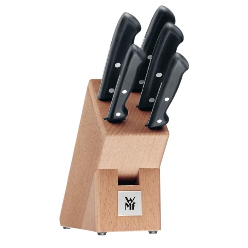 WMF - CLASSIC LINE Zestaw 5 noży w bloku