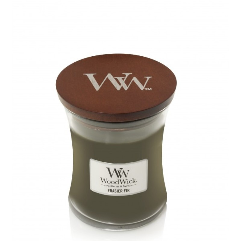 WoodWick - Świeca średnia Frasier Fir
