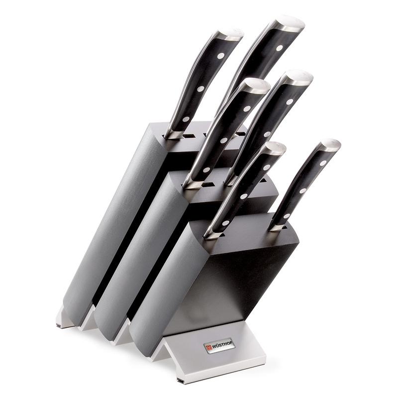 Wusthof - Classic Ikon Blok z 6 nożami