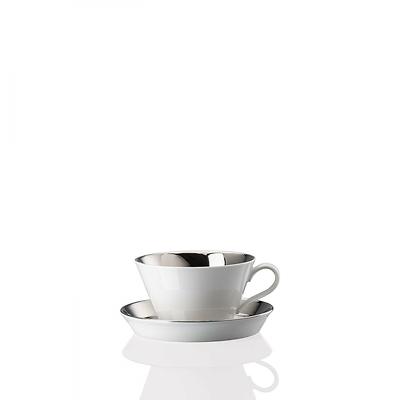Arzberg - Tric Moonlight Filiżanka do kawy z mlekiem ze spodkiem