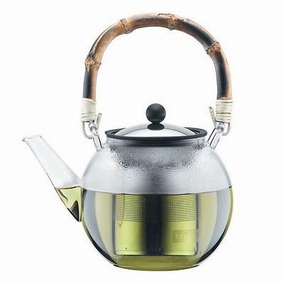 Bodum - assam Zaparzacz do herbaty z bambusową rączką