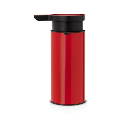 Brabantia - dozownik do płynów, czerwono-metaliczny