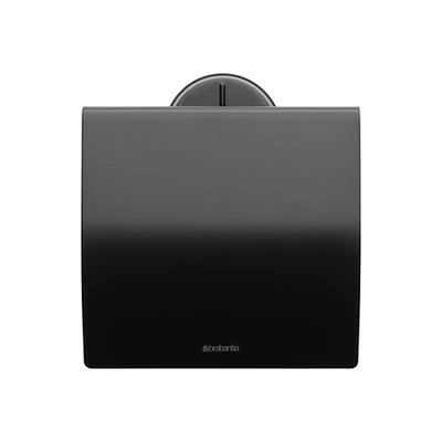 Brabantia - Profile uchwyt na papier toaletowy, czarny