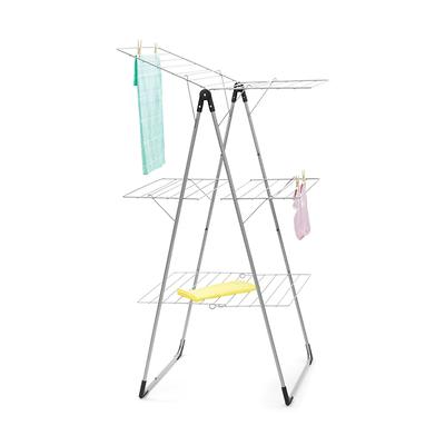 Brabantia - Suszarka na pranie składana trzy poziomy, szara