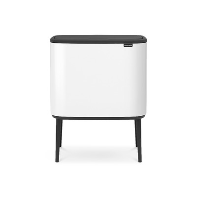 Brabantia -  Touch Bin Bo kosz na śmieci, biały
