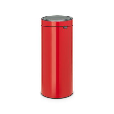 Brabantia - Touch Bin kosz na śmieci, czerwony