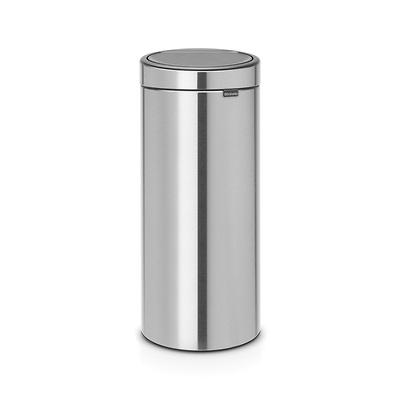 Brabantia - Touch Bin kosz na śmieci, stalowy mat