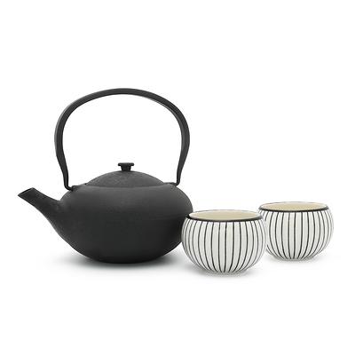 Bredemeijer - Shanxi Dzbanek żeliwny do herbaty z dwoma czarkami