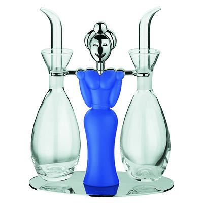 Bugatti - Campagnuola Zestaw na olej i ocet, niebieski