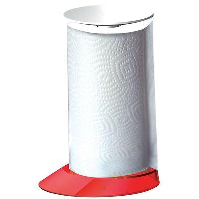 Bugatti - Glamour stojak na ręczniki papierowe, czerwony