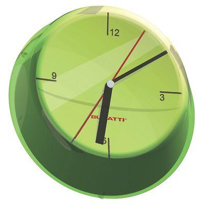 Bugatti - Glamour zegar ścienny, zielony
