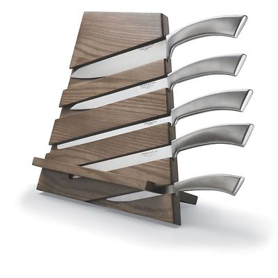 Bugatti - Trattoria blok noży, ciemne drewno
