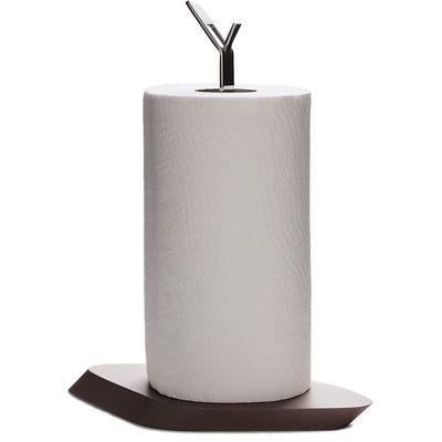 Bugatti - Trattoria stojak na ręczniki papierowe, ciemne drewno