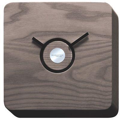 Bugatti - Trattoria zegar wykonany w ciemnym drewnie