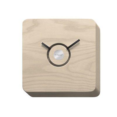 Bugatti - Trattoria zegar wykonany w jasnym drewnie