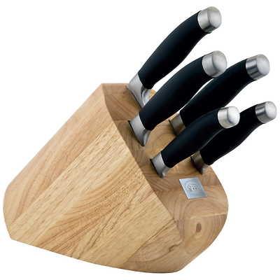 Carl Schmidt Sohn - Shikoku Zestaw 5 noży w drewnianym bloku