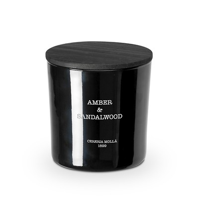Cereria Molla - Amber and Sandalwood Świeca XL