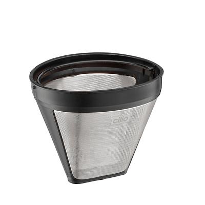 Cilio - Stalowo - stalowo - plastikowy filtr do kawy