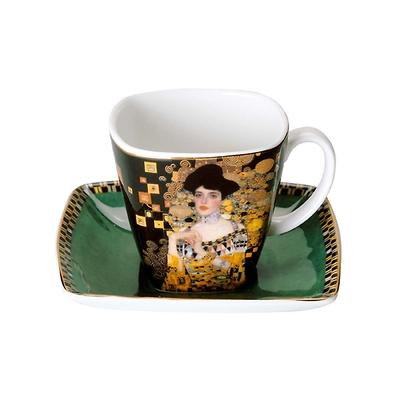 "Goebel - Gustav Klimt ,,Adele Bloch-Bauer"" filiżanka do espresso"