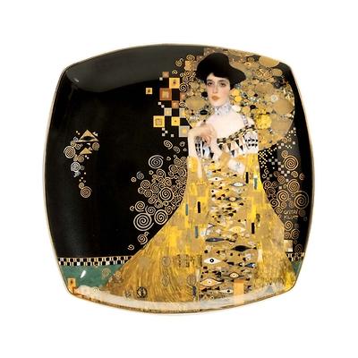 """Goebel - Gustav Klimt ,,Adele Bloch-Bauer"""" talerz deserowy"""