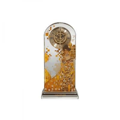 """Goebel - Gustav Klimt ,,Adele Bloch-Bauer"""" zegar kryształowy"""