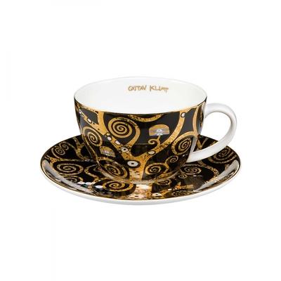 """Goebel - Gustav Klimt ,,Drzewo życia"""" filiżanka do herbaty"""