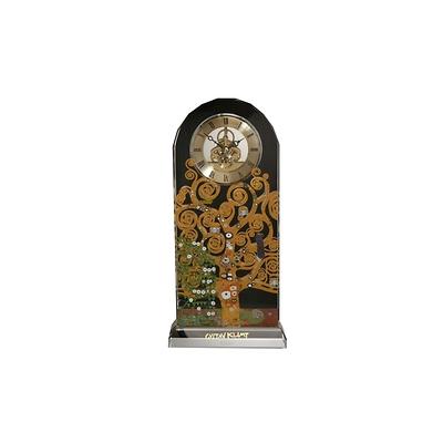"""Goebel - Gustav Klimt ,, Dzewo życia"""" zegar kryształowy"""