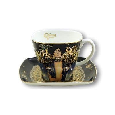 "Goebel - Gustav Klimt ,,Judyta I"" filiżanka do kawy"