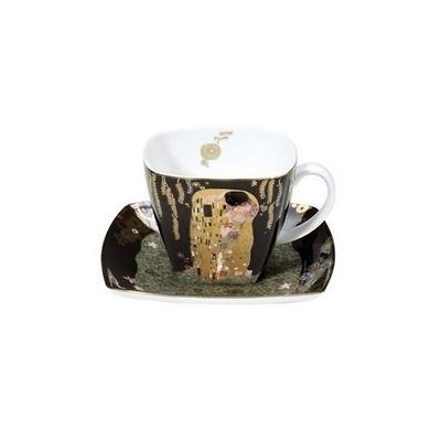 "Goebel - Gustav Klimt ,,Pocałunek"" filiżanka do espresso"