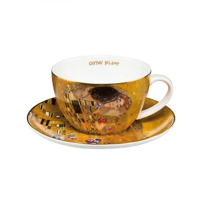 "Goebel - Gustav Klimt ,,Pocałunek"" filiżanka do herbaty"