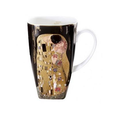"Goebel - Gustav Klimt ,,Pocałunek"" kubek do kawy"