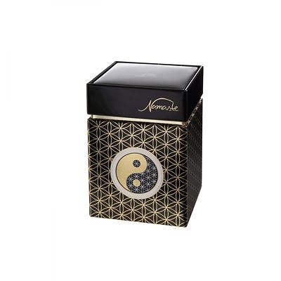 """Goebel - """"Yin Yang Czarny""""  pudełko na herbatę"""