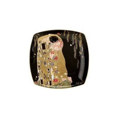 "Goebel - Gustav Klimt ,, Pocałunek"" talerz deserowy"