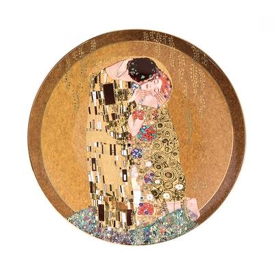 """Goebel - Gustav Klimt ,,Pocałunek"""" talerz ścienny"""